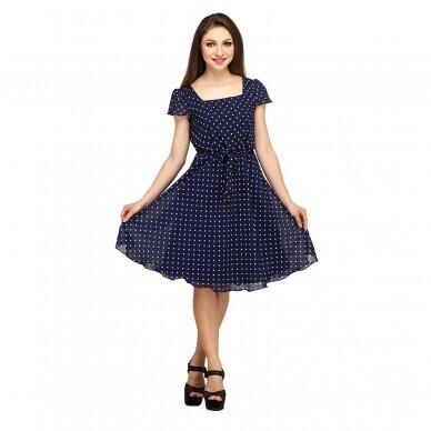 Mėlynos spalvos EXPO suknelė